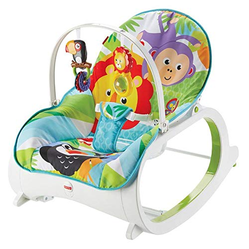 Fisher-Price Infant to Toddler Rocker – Blue
