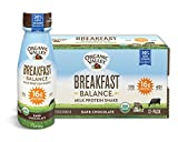Organic Valley Breakfast Balance, Organic Milk Protein Shake, Dark Chocolate, 11 Ounces (Pack of 12) Review