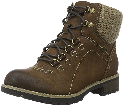 Jana Women's 26215 Combat Boots Brown (Cafe 361) sale clearance sale very cheap sale pick a best cheap collections 3Efez1yR