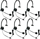 Panasonic KX-TCA60 Noise Canceling Over the Head Headset (6 Pack)