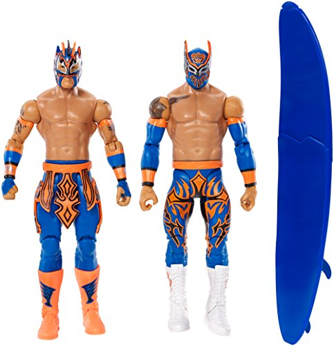 WWE Sin Cara and Kalisto Figure (2 Pack) by Mattel