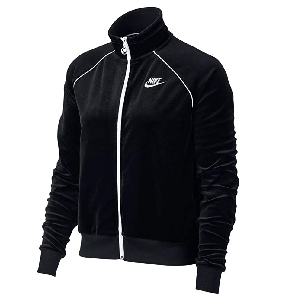 Nike Sportswear Velour Track Jacket at Amazon Womens ...