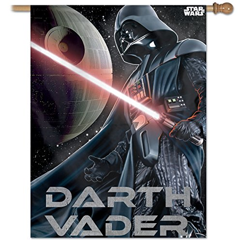 Disney Star Wars Vertical Flag Darth Vader