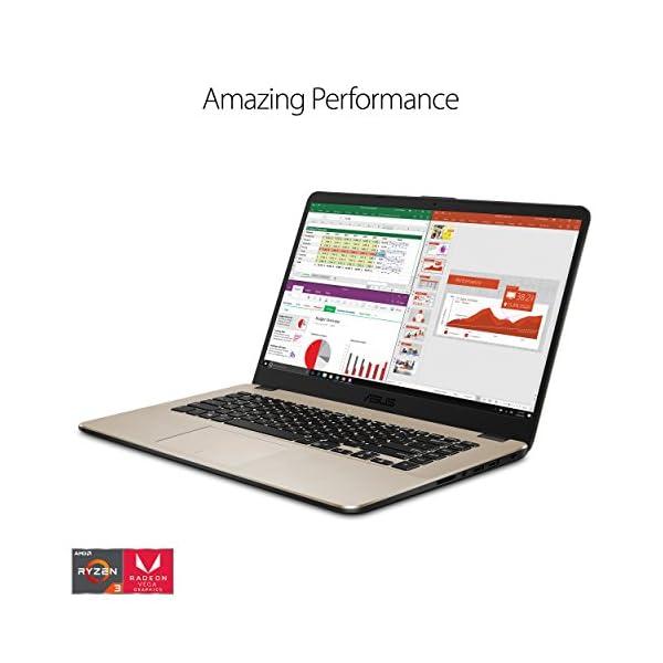 "ASUS VivoBook 15"" FHD Laptop, Dual-Core Ryzen R5-2500U Processor (up to 3.6 GHz) with Radeon Vega 8 Graphics, 8GB DDR4… 2"