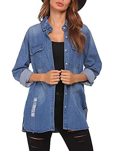 Blue Denim Jacket - 7
