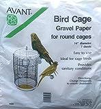 Bird Cage Round Gravel Paper 14 inch diameter