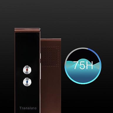 Amazon.com: Traductor de voz instantáneo inteligente ...