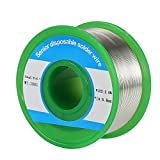 0.8mm Lead Free Solder Wire with Rosin Core, Sn99 Ag0.3 Cu0.7 0.22lb for Electronical Soldering