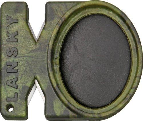 Lansky Quick Fix-Camo Pocket Sharpener - Fix Lcstc Quick