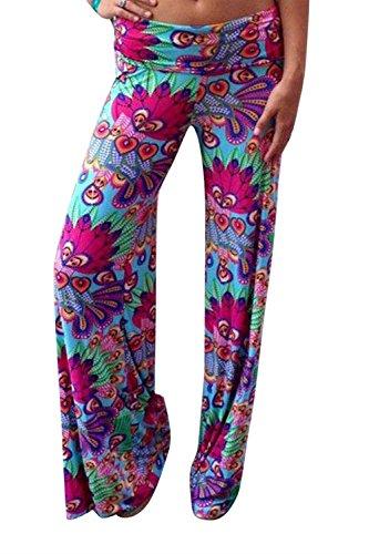 Als Libre Verano Impresión Aireado Tiempo Adelina Bild Disfraz Pantalones Vintage Cómodo Mujer Basicas Palazzo Elegantes Largos Anchos Yoga De ZXTptq