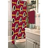 NFL Washington Redskins Decorative Shower Curtain