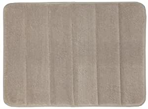 Mohawk Home Memory Foam Bath Rug, 17 by 24-Inch, Taupe