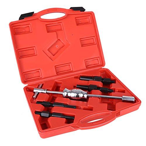 5pcs Inner Blind Bearing Puller Set Internal Slide Hammer Tool Remover