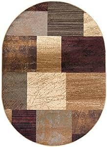 Universal Rugs 5210 Elegance Oval Area Rug, 6-Feet 7-Inch by 9-Feet 6-Inch, Multi