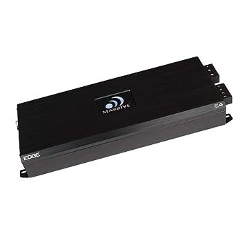 Massive Audio E4 - Car Audio 4,000 Watt Nano Edge Series, Monoblock Car Amplifier,