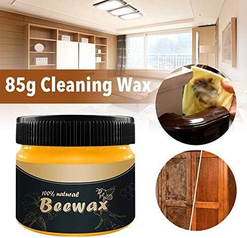 rethyrel Möbel Bienenwachs Politur Set Holz Würzmittel Bienenwachs Politur Reinigungsmittel Bienenwachs Politur für die Möbelpflege