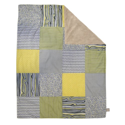 Trend Lab Multi-Patched Receiving Blanket, Hello Sunshine