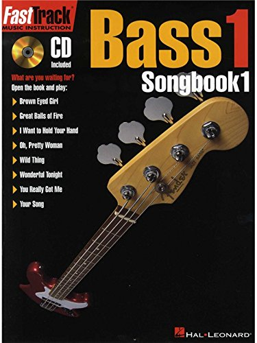 Fast Track: Bass 1 - Songbook One. Partitions, CD pour Guitare Basse(Symboles d'Accords), Partitions De Groupes(Symboles - Cd Accord