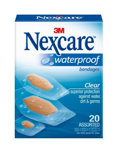 (Waterproof Bandages, Nexcare Manufactured 6pk!)