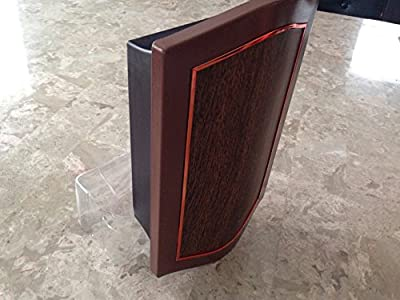 IQ America Designer Series Wired/Wireless Door Chime with Mahogany and Oil-Rubbed Bronze Cover