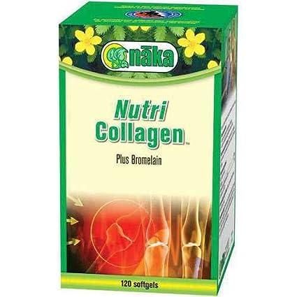 Amazon Com Nutri Collagen Plus 120 Softgels Naka Herbs Vitamins