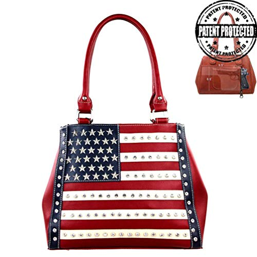 Montana West Womens Concealed Carry Purse American Pride Collection US04G-8036