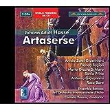 アドルフ・ハッセ:歌劇「アルタセルセ」3幕 (1730年ヴェニス初演版)[3CDs]