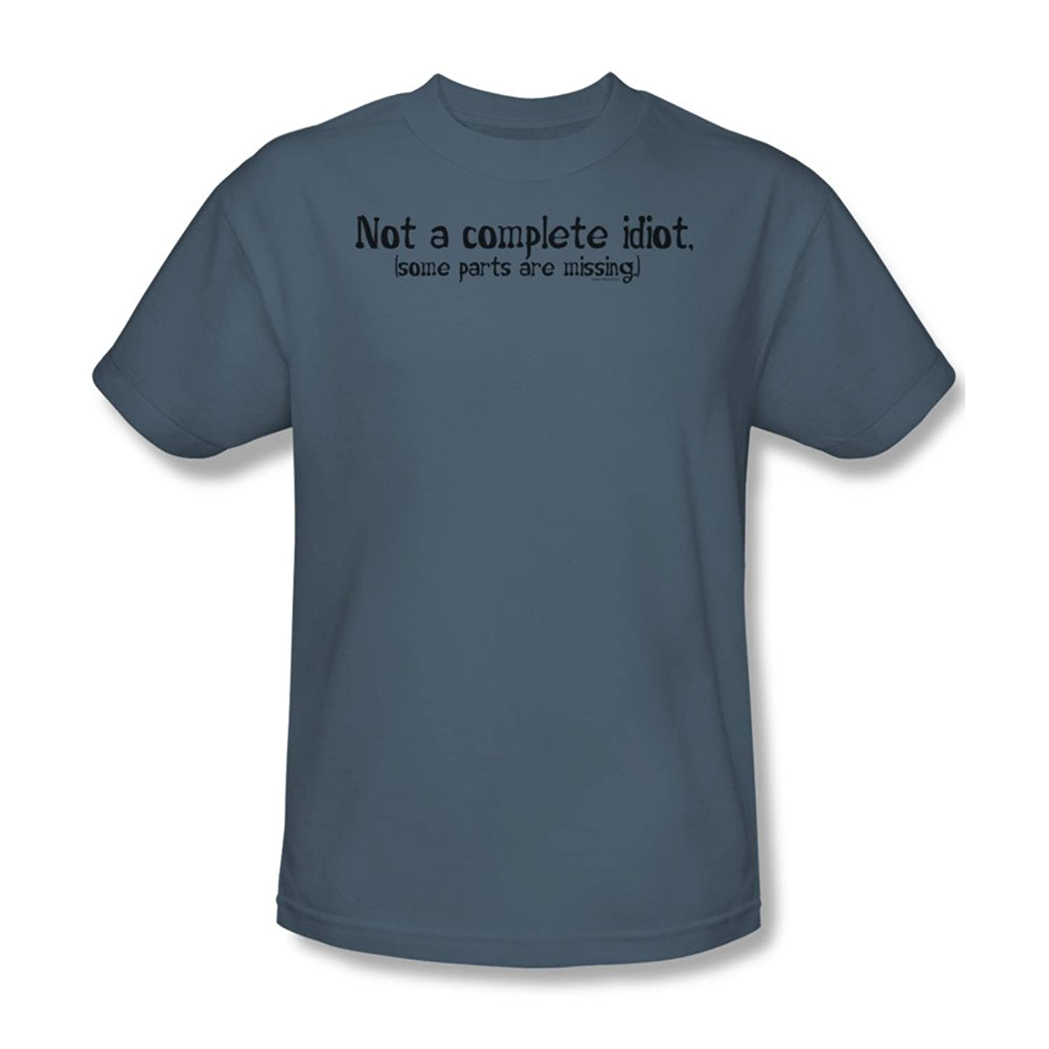 Not A Complete Idiot - Mens T-Shirt In Slate