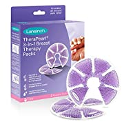 Lansinoh TheraPearl Breast Therapy Pack, Breastfeeding Essentials, 2 Pack