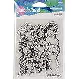 Spellbinders JDS-015 Jane Davenport Girl Group - Sellos transparentes