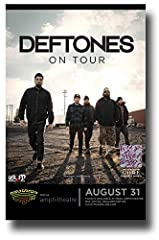 "Deftones Poster Promo for a Concert on the ""Gore"" Album Tour"