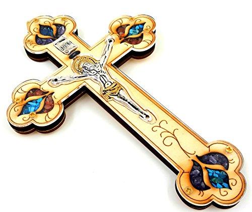 Gemstone Crucifix - 7