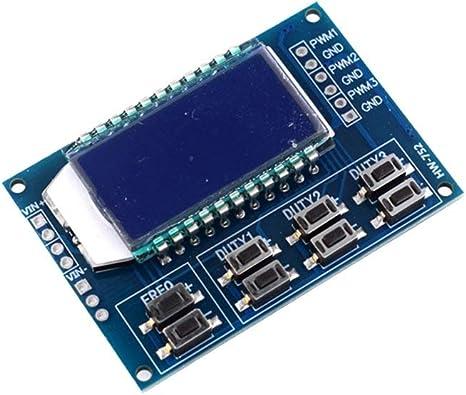 HW-752 3-Wege-Frequenzmesser Signalgenerator Modul Generator LCD-Anzeige X