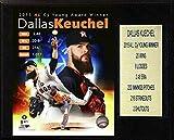 "C&I Collectables MLB Houston Astros Dallas Keuchel CY Young Player Plaque, 12""x15"""