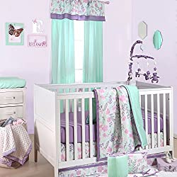 Nursery Decoration Inspiration Floral Nursery Crib Bedding