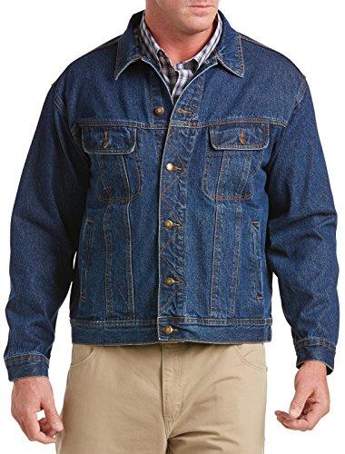 Wrangler Mens Rugged Wear Unlined Denim Jacket