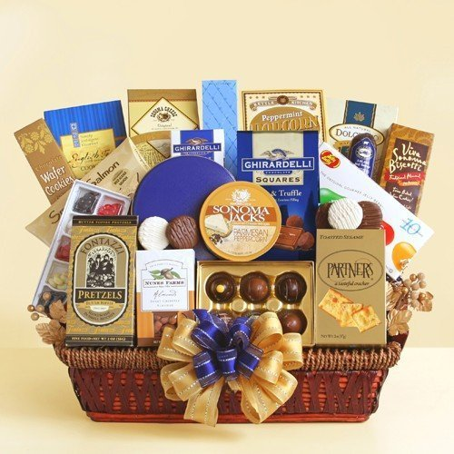 The Executive Decision Office Gift Basket   Great Gift Idea for the Office or Any Occasion by Organic Stores (Organic Stores Gift Baskets)