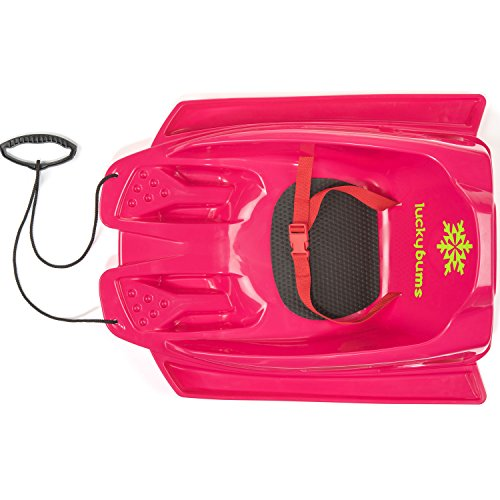 Lucky Bums Toddler Pull sled, Pink by Lucky Bums