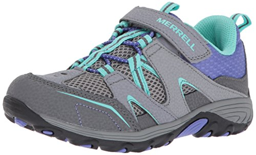 Merrell Trail Chaser Hiking Shoe , Grey/Multi, 1 M US Little Kid