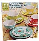Cheap Laurie Gates – 12 Piece Melamine Dinnerware Set