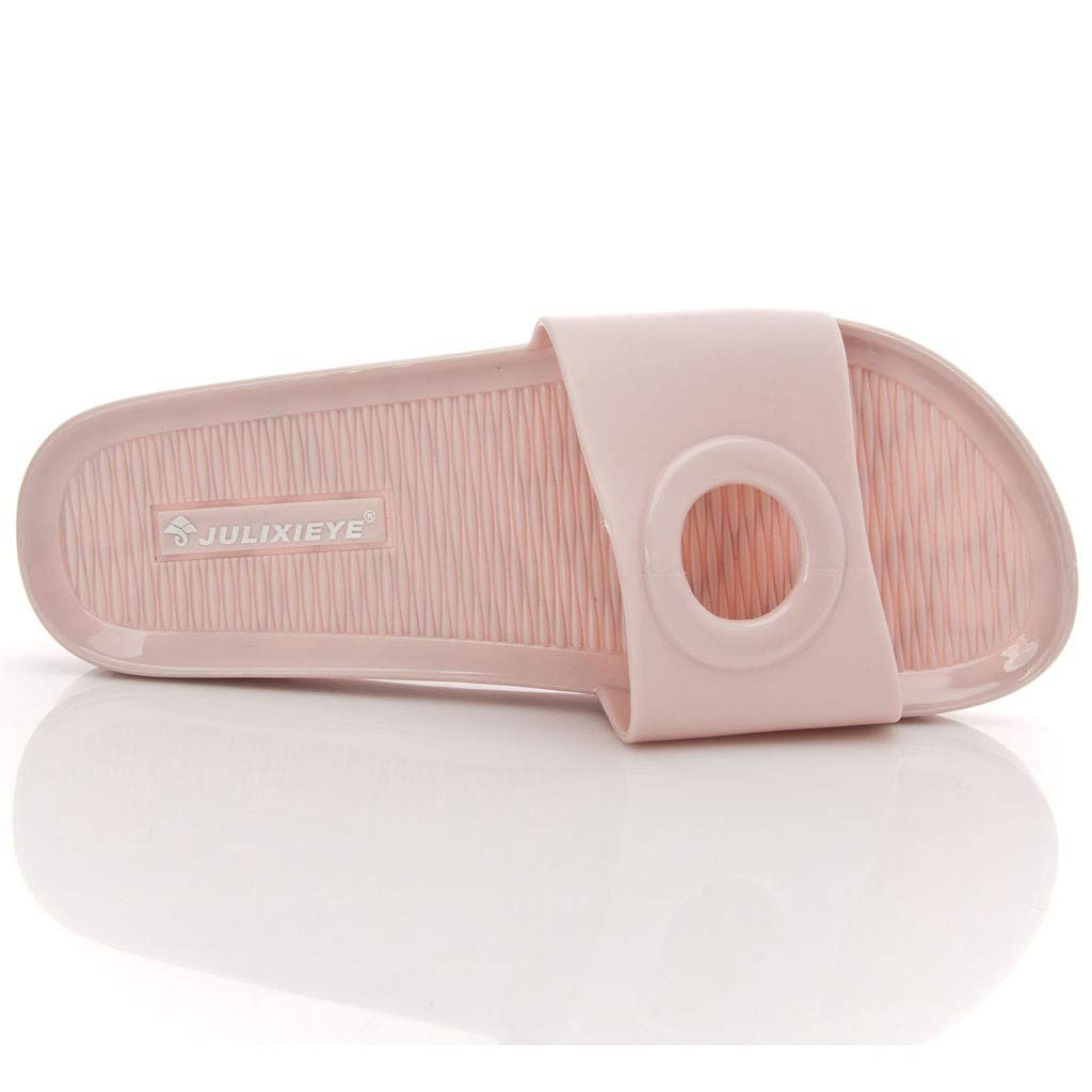 VonVonCo Hollow Ring Home Slippers Comfortable Non-Slip Jelly Womens Shoes Beach Slipper