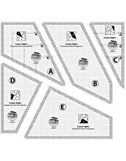 Crazier Eights Quilting Ruler Template
