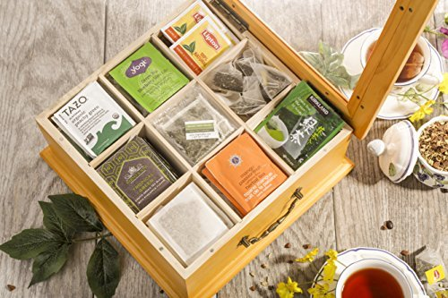 Gourmet Wooden Tea Box Image