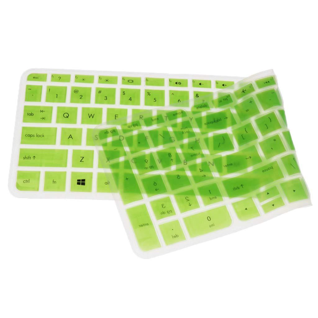 Sharplace Silicone Protecteur Housse De Protection pour Clavier 3D Sté ré oscopique pour HP Pavilion 15'' - Couleur # 2