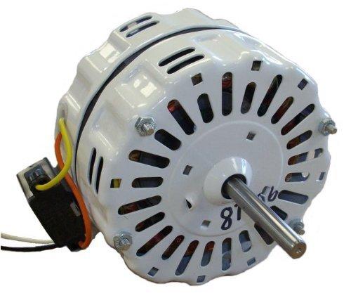 Nutone Gable Vent Fan Motor # D0810B2779 (GF1200N) 1725 RPM, 4.1 Amp, 115 volts, 60hz. #87406