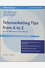 Crisp: Telemarketing Tips from A to Z: How to Make Every Call a Winner! (Crisp Fifty-Minute Series) by Nancy J. Friedman (2001-01-15) Paperback