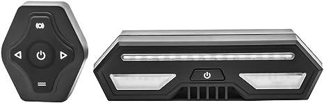 Luz Trasera de Bicicleta Inteligente, USB Recargable Intermitentes Inalámbricos & Luz de Freno, Resistente al Agua LED Luces Traseras para Ciclismo de Seguridad: Amazon.es: Deportes y aire libre