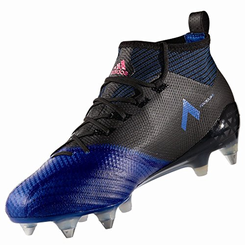 adidas Ace 17.1 Primeknit Soft Ground Mens Football Boots - Black-7.5 (Ace 16-1 Primeknit Firm Artificial Ground Boots)
