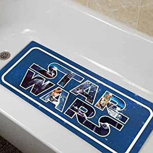 star wars classic bath collection tub mat home kitchen. Black Bedroom Furniture Sets. Home Design Ideas