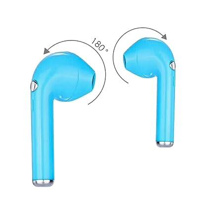 Hongfei Auriculares inalámbricos Bluetooth, 180 ° rotación mini auriculares inalámbricos auriculares en la oreja,